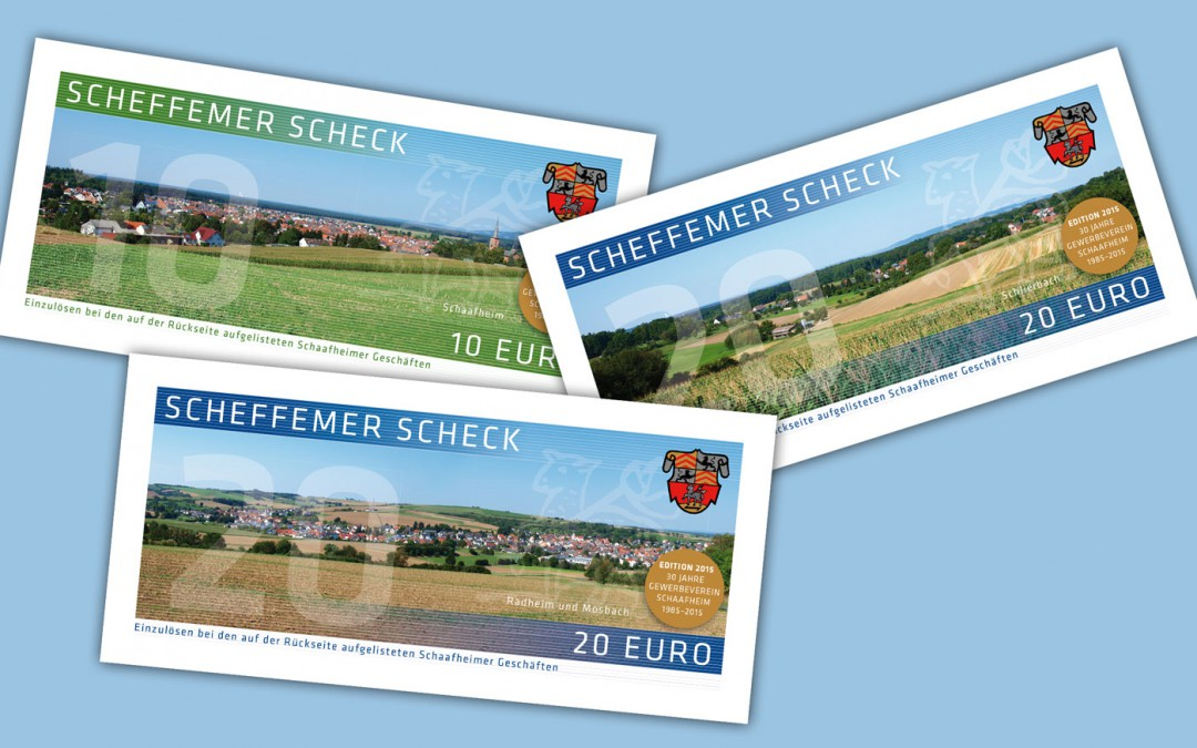 Scheffemer Schecks – Edition 2015