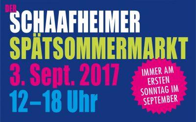 Zweiter Schaafheimer Spätsommermarkt  am 3. September 2017