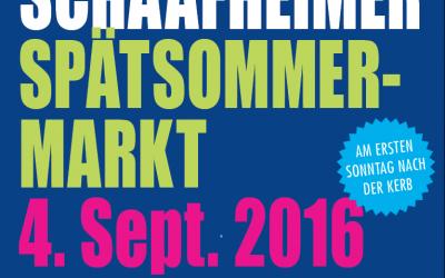 Verkaufsoffener Sonntag in Schaafheim, 4. September 2016