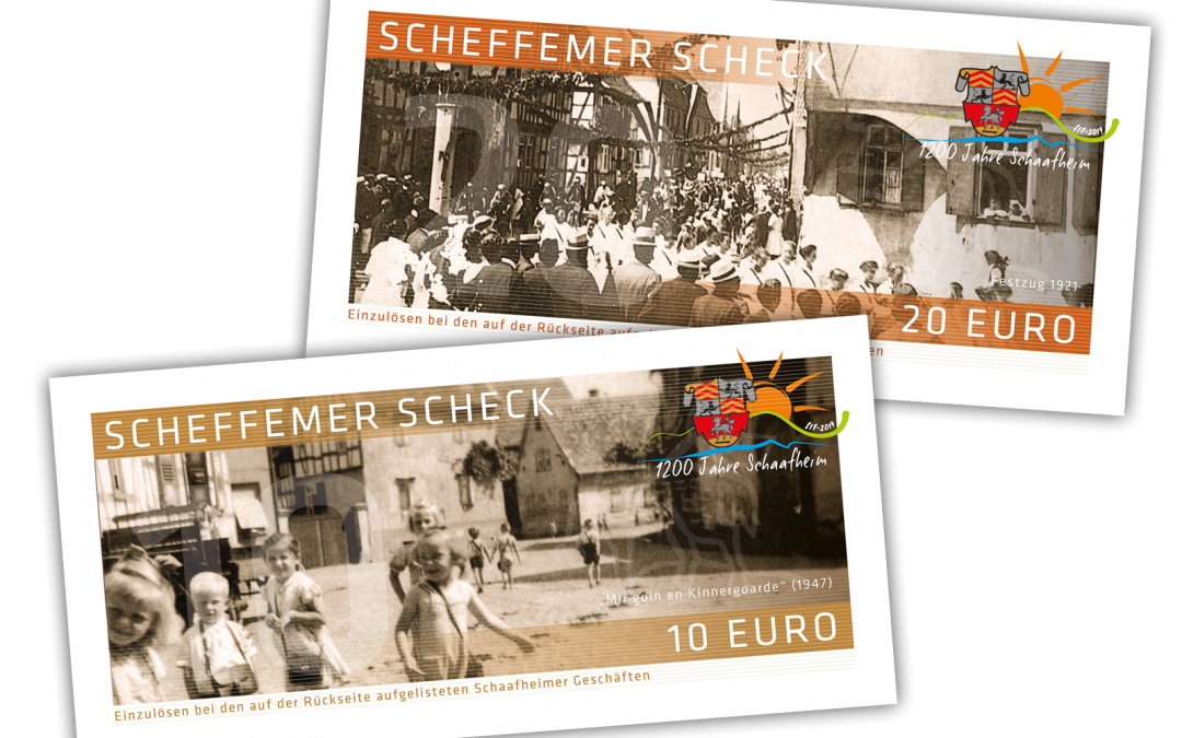 Jubiläumsedition: Scheffemer Schecks2017