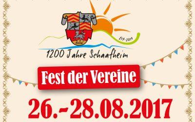 Fest der Vereine am 26.-28.08.2017 (Kerbwochenende)