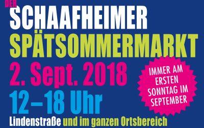 Jetzt anmelden zum Schaafheimer Spätsommermarkt 2018!